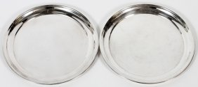 Poole Sterling Trays, 2