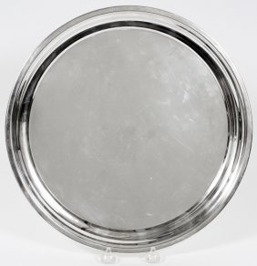 Poole Sterling Tray