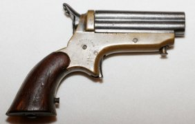 Sharps 4 Barrel Derringer 'pepper Box' 1859-1874