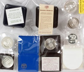 Coins Of Israel 1968 1975 78 79 83 5 Coin Sets