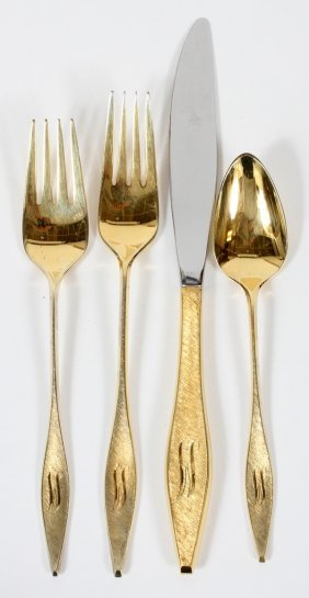 Reed & Barton 'cellini' Gold-plated Sterling