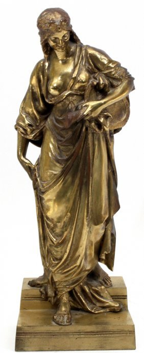 French Bronze Sculpture 19th C.