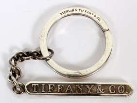 Tiffany & Co. Sterling Key Ring
