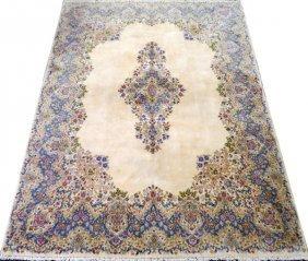 Kerman Persian Wool Rug C.1960