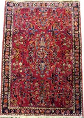 Sarouk Persian Rug C. 1900