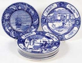 Copeland Spode Blue Transfer Plates