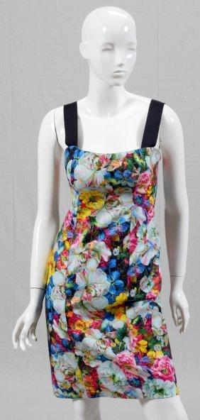 Erdem Printed Floral Cotton Day Dress