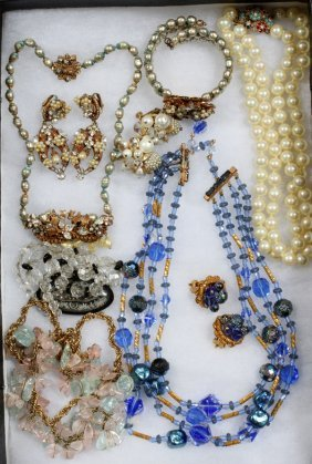 Original By Robert Parure & Other Costume Jewelry