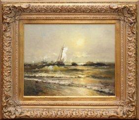 Vladimir Nasonov Oil On Canvas