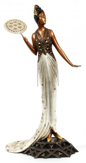 Erte Bronze Sculpture #167/500