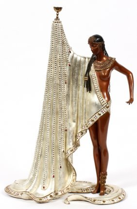 Erte Bronze Sculpture #194/375