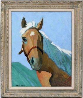 Jane Peterson Oil On Canvas El Dorado
