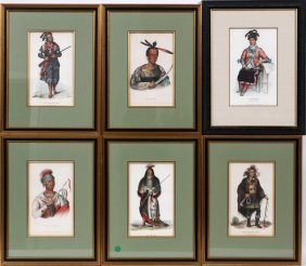 Mckenny And Hall Bowen American Indian Lithographs