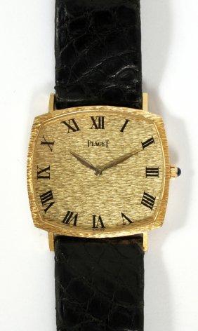 Piaget 18kt Yellow Gold Wrist Watch Case