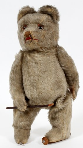 Vintage Teddy Bear Wind Up