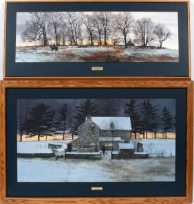 Peter Sculthorpe Print On Masonite Two