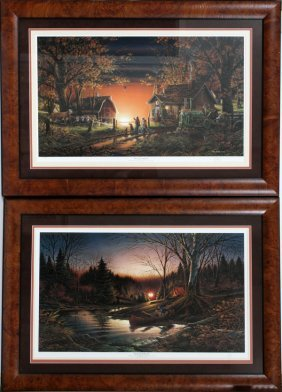 Terry Redlin Lithographs Two