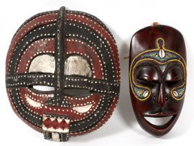African Masai Mask
