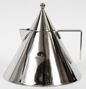 Aldo Rossi For Alessi 'il Conico' Tea Kettle