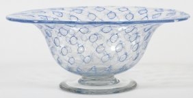 Libbey Glass Footed Bowl