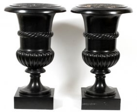 Classical Style Urns Pair
