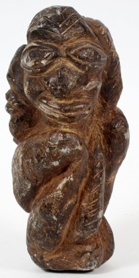 Kissi Soapstone Figure Republic Of Guinea