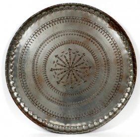 Syrian Brass Tray