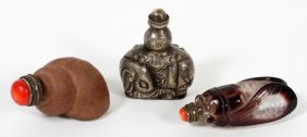 Chinese Snuff Bottles Three