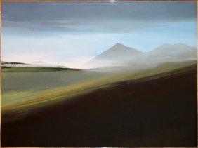 Richard Kozlow Oil On Canvas C. 1976