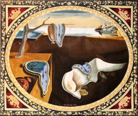 Salvador Dali Wool Tapestry By Suzy Langlois