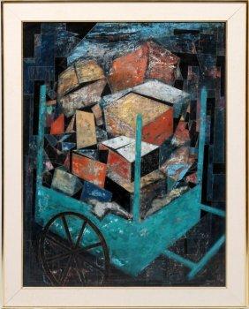 Richard Kozlow Abstract Acrylic