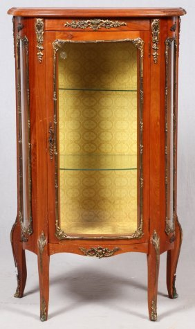 French Louis Xv Style Curio Cabinet