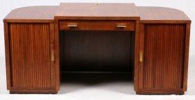 Bernhardt Furniture Art Deco Style Mahogany Desk