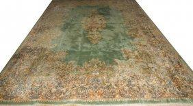 Persian Kerman Wool Carpet C. 1975-1985