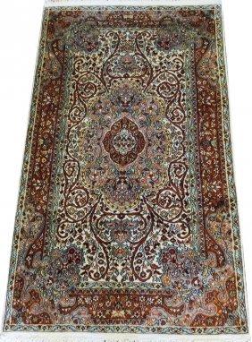 Kashmir Wool & Silk Rug