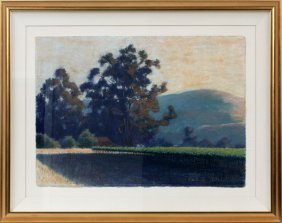 Clark G. Mitchell Pastel