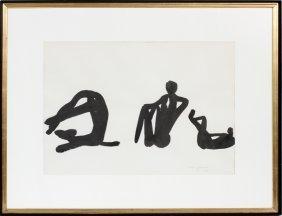 Louis Chavignier Lithograph C. 1955