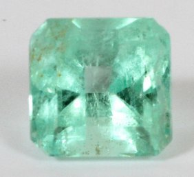 Colombian Emerald Emerald Cut 2.83 Ct Stone