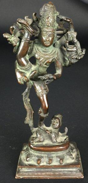 Bronze Kali Figurine