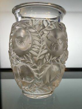 Lalique Crystal Bagatelle Vase