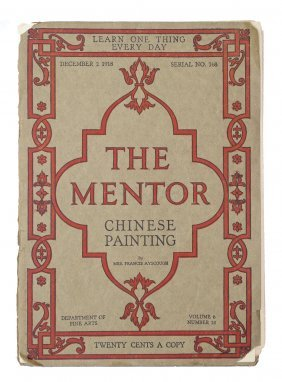 """the Mentor"" By Mrs. Francis Ayscough"