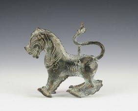 Bronze Asian Lion