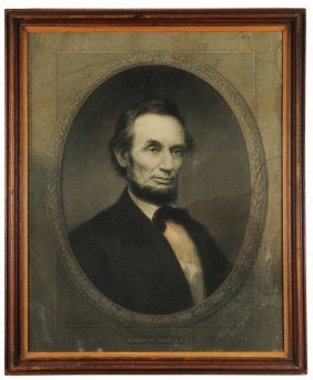 Artist's Proof Of Lincoln