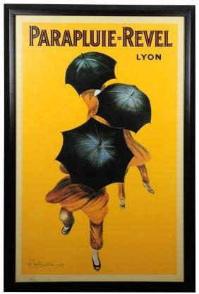 Parapluie-revel Leonetto Cappiello Poster