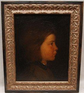 DAVID BAUTZ, Dutch 1884-1955, �Coming Of Age�, Oil