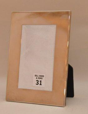 "Tiffany Sterling Frame With Original Bag, 3"" X 5"""