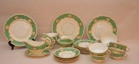 """25 Pieces Royal Worcester Porcelain. Plates Dia. 10"""""""