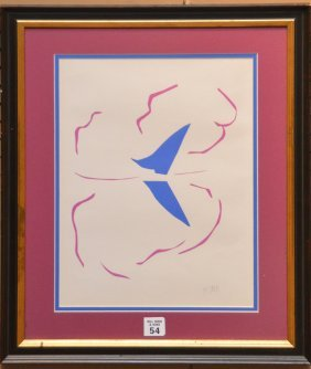 Henri Matisse (french, 1869-1954) Lithograph,