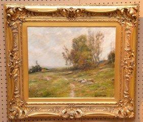 Edward Gay (american 1837 - 1928) Oil On Canvas,