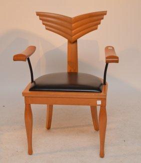 Giorgetti Design Massimo Scolari, Arm Chair Black
